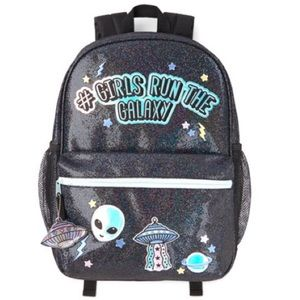 NWT Childrens Place #Girls Run the Galaxy Backpack